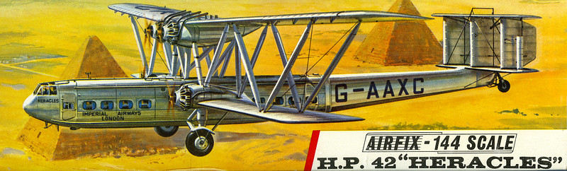 The elegant Handley Page Heracles airliner.