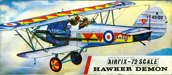 Hawker Demon inter-war fighter.