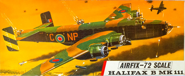 WW11 Halifax bomber.