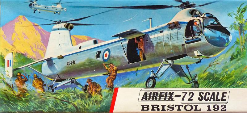 Bristol 192 transport helicopter.