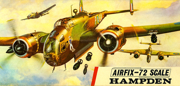 WW11 Hampden light bomber.