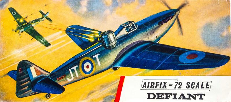 WW11 Boulton Paul Defiant fighter.