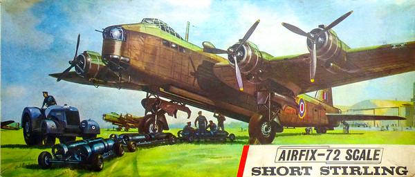 WW11 Short Stirling heavy bomber.