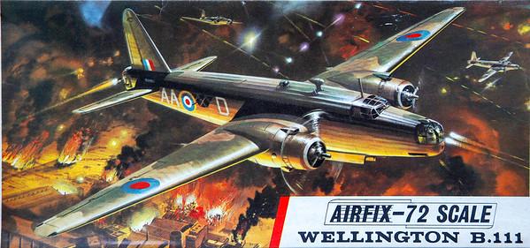 WW11 Wellington bomber.