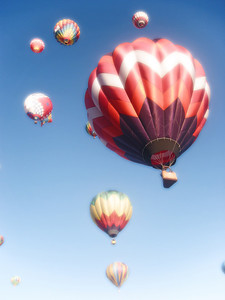 Hot Air Balloon Race.  Reno Nevada.