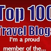 "Top 100 Travel Blogs <a href=""http://nomadicsamuel.com/top100travelblogs"">http://nomadicsamuel.com/top100travelblogs</a>"