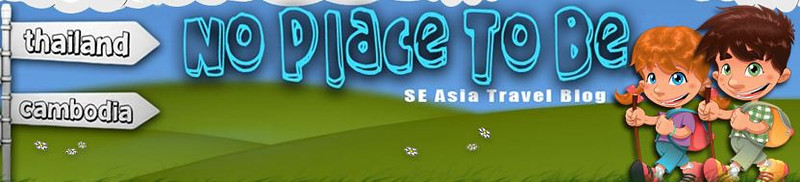 No Place To Be is a popular travel site run by Poi and Kirsty, an English couple currently living, teaching and travelling in SE Asia.