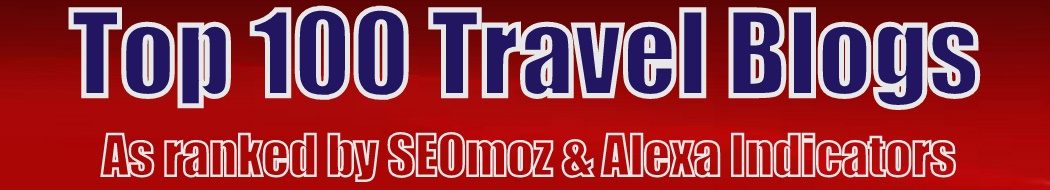 Top 100 Travel Blogs as ranked by SEOmoz & Alexa indicators.