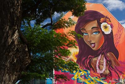 Ono'u 2014 - Tahiti festival graffiti - Tahiti