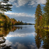 Ricker Pond, Groton State Forest, Vermont (September 2012)