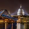 Millenium Bridge & St. Paul, London (November 2012)