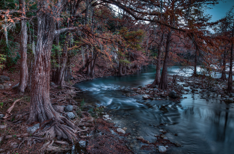 Guadalupe River, Gruene, Texas (November 2013)