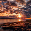 Schoodic Point Sunset, Schoodic Peninsula, Maine (May 2014)