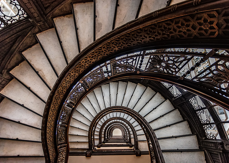 The Rookery, Chicago, Illinois (October 2017)