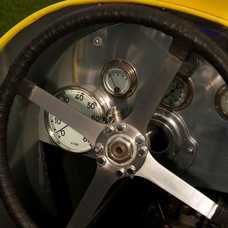 Duesenberg Indy car dash