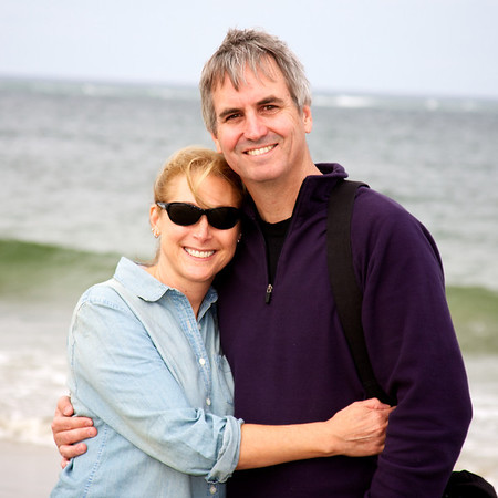 Kim and Chris at Crane Beach: photo cred Susannah