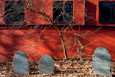 Graveyard in Salem Massachusetts