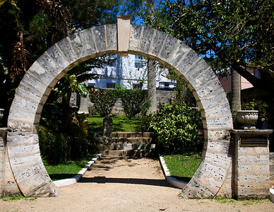 Moon Gate in St Georges