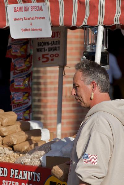 Fenway Park Peanut Vendor