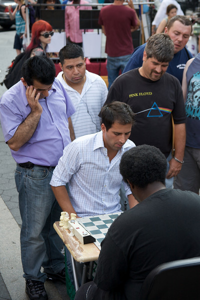 Speed Chess in Union Square