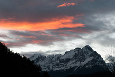 Tramonto sulle Dolomiti