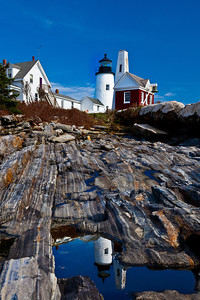 Maine Coast - Pemaquid Point Lighthouse