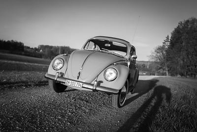 VW Käfer de Luxe 1200 (Baujahr 1961, restauriert 2020)