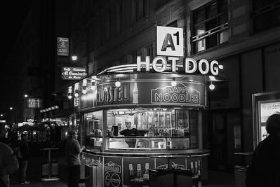 Eine Sommernacht in Wien.