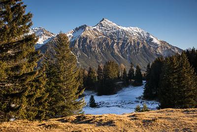 Lenzerhorn, von Lenzerheide aus gesehen