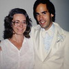 Charlene Hurt and Eric Schuman at the wedding of Dr. Robert Jacoby, 1979