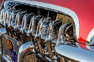 1956 (?) I think, Corvette grille