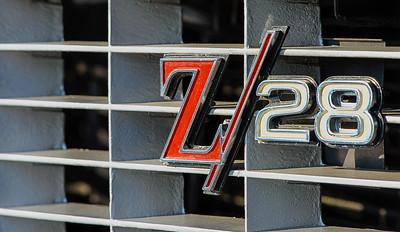 1969 Chevrolet Z28 Camaro grille badge