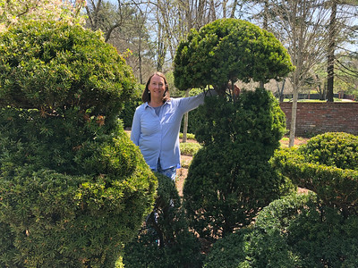 Topiaries celebrate 20th anniversary, Dottie celebrates her birthday and remembers her mother on her birthday