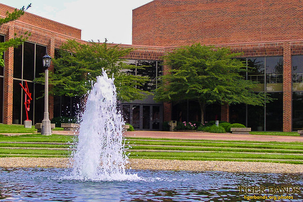 Bowman Pond and the Performing Arts Center