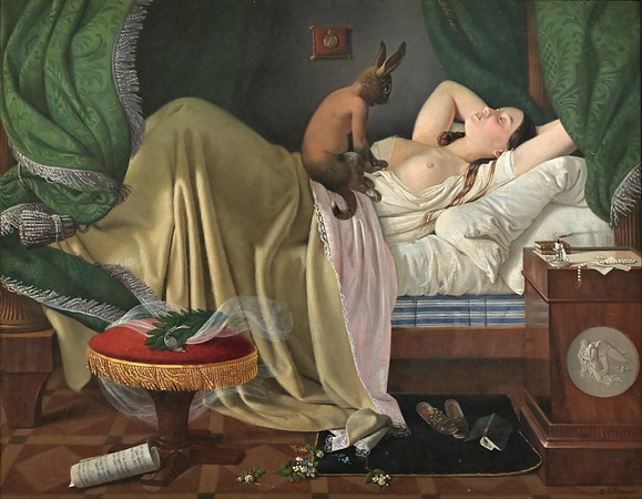 The Nightmare (1846) by Ditlev Blunck