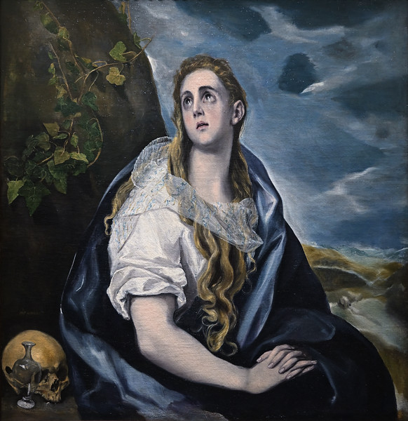 The Repentant Magdalen (c. 1577) by El Greco