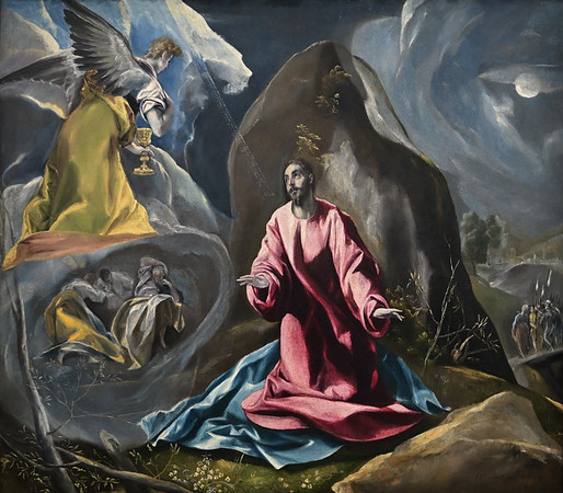 The Agony in the Garden (c. 1590) by El Greco