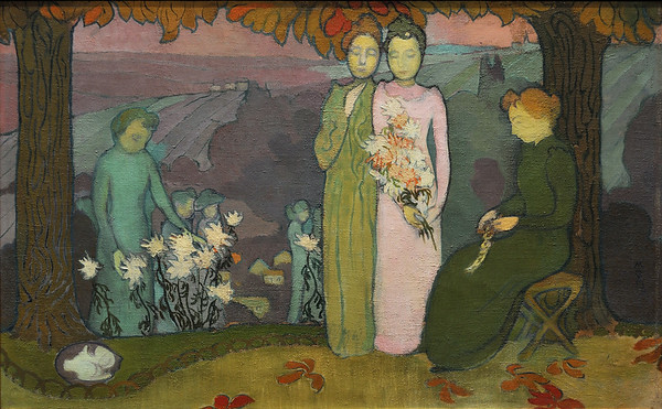 Soir d'octobre (1891) by Maurice Denis