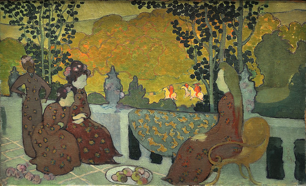 Soir de septembre (1891) by Maurice Denis