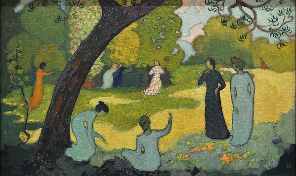 Juillet (1892) by Maurice Denis