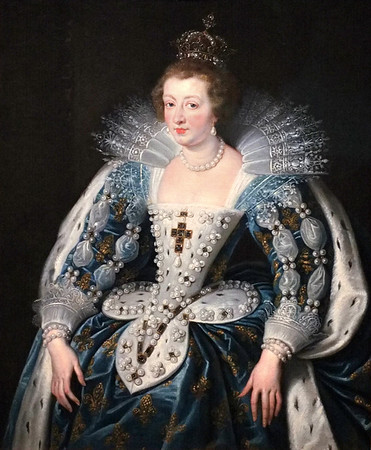 Portrait of Anne of Austria, Queen of France (c.1622-25) by Peter Paul Rubens