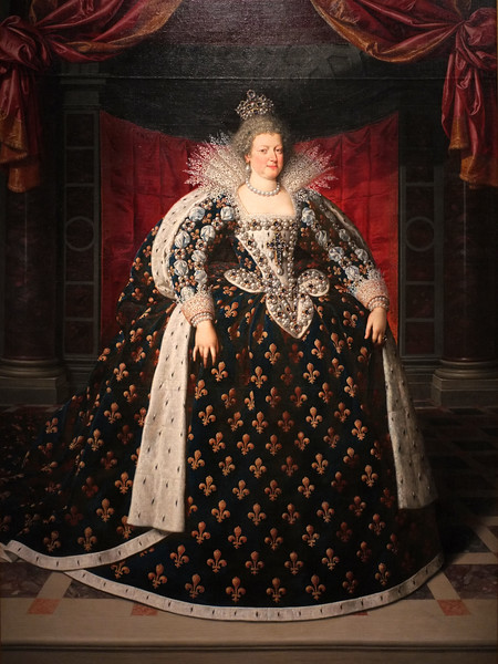 Marie de' Medici, Queen of France (c. 1609) by Frans Pourbus the Younger