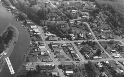 Nehalem from the air in 1965.