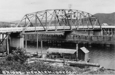 The swing bridge built in the early 20s served the area until the 1980s.