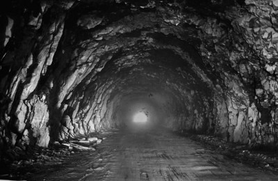 Work on the tunnel through Arch Cape began in the mid 1930s.