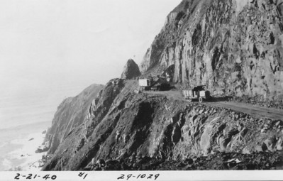 After years of negotiation between Clatsop and Tillamook counties and pressure on state and federal governments, in the 30s work started again to traverse Neahkahnie Mountain.
