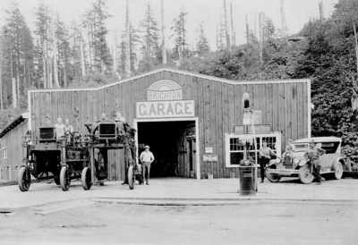 By the 1920s, mills as well as loggers relied on the gasoline engine.