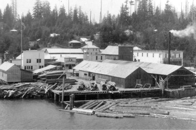 The Effenberger mill in Nehalem produced boxes and crates.