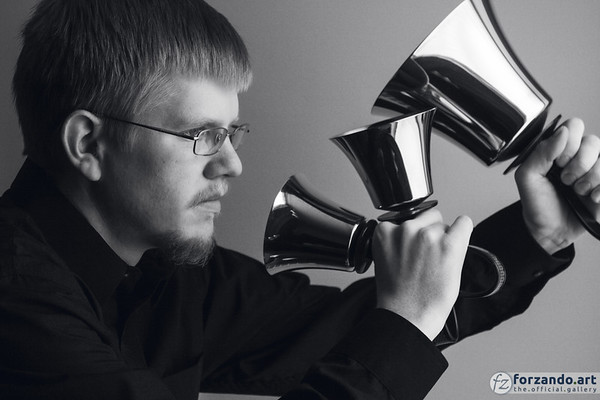 Handbell Musician Daniel M. Reck