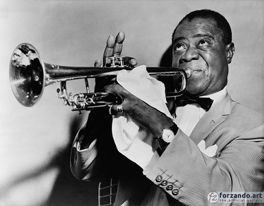 Louis Armstrong in 1955